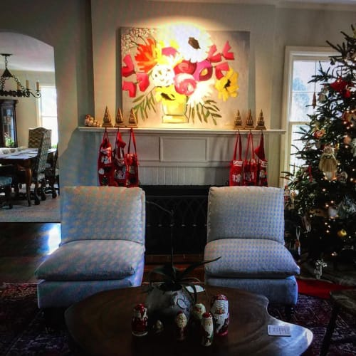 Paintings by Kim Kreis Art at Private Residence, Chattanooga - Flower Painting