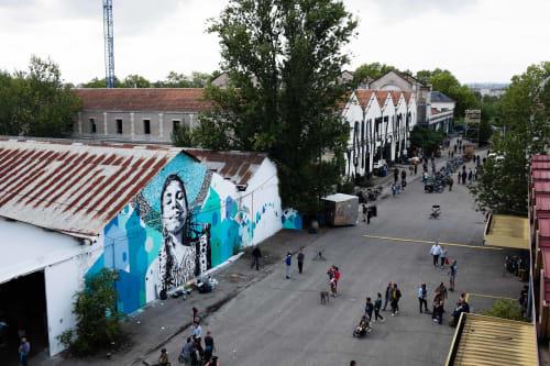Murals by yann chatelin-POZE- seen at Darwin Eco-système, Bordeaux - Gipsy queen