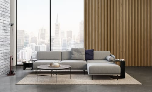 Couches & Sofas by Civil seen at Private Residence, New York - Noord 3 seat sofa with magic box