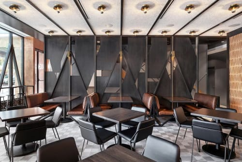 Interior Design by Chioco Design LLC seen at Torchys Tacos, Austin - Architectural Design