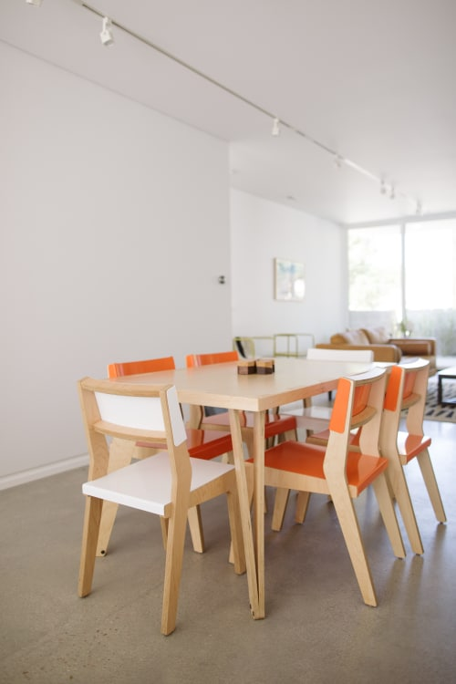 Chairs by Housefish seen at Private Residence, Los Angeles - Lock Chair