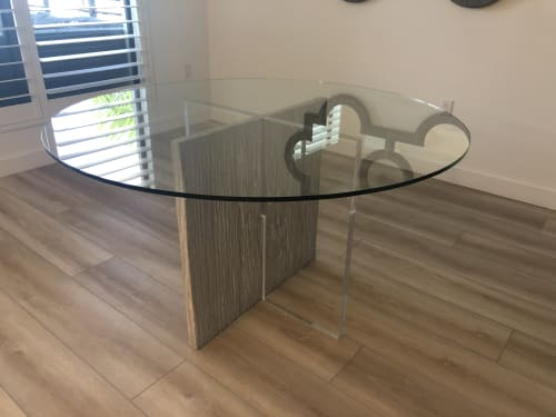 Tables by Gusto Design Collection seen at Creator's Studio, Miami - Betty dining table