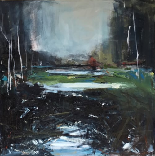Paintings by Carol Finkbeiner Thomas seen at Private Residence, Collingwood - Beaver Dam