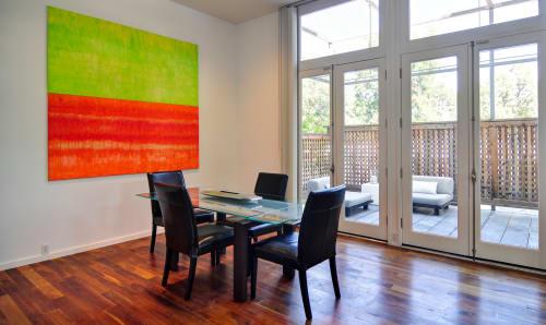 Paintings by sorayart - sorayacaballero at Private Residence, Dallas - Texture citrics