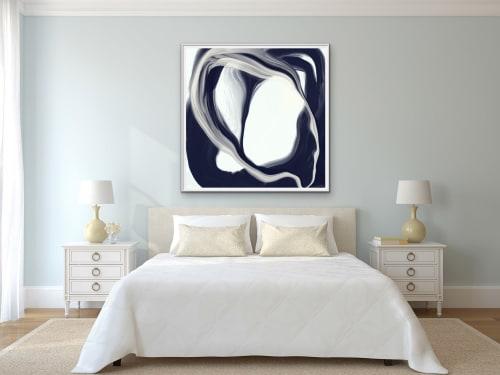 Paintings by LA TOYA JONES seen at Creator's Studio, Dallas - BEGIN
