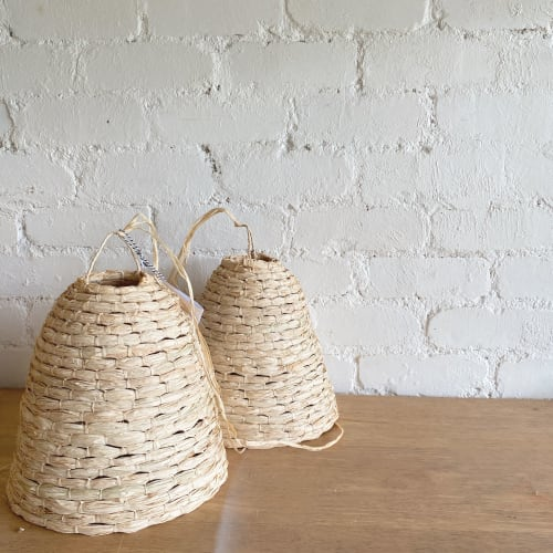 Pendants by The Paper Mills Studio seen at Victoria - Small cylinder