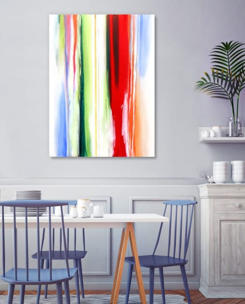 Paintings by Alyson McCrink Fine Art seen at Private Residence, Seattle - Vivid Visions