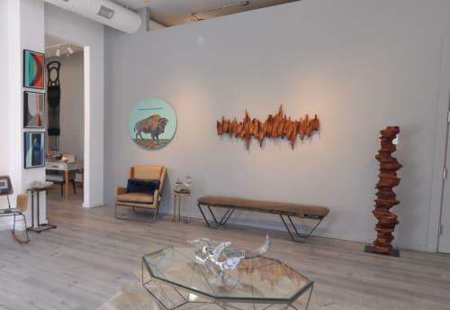 Sculptures by Lutz Hornischer - Sculptures & Wood Art seen at MiXX Projects + Atelier, Telluride - Sculptures