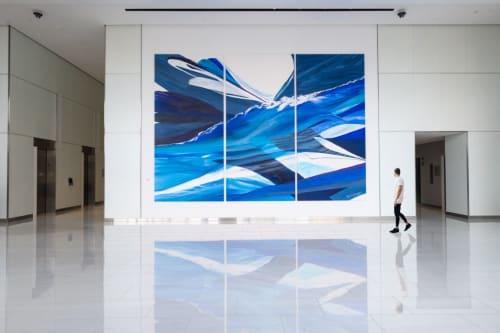 Paintings by Ridgeway Studio seen at 8350 Broad Street (Boro Tower), McLean - Arc of the Iimaginals
