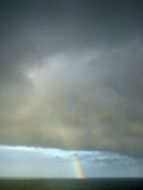 Photography by Tabitha Soren seen at Private Residence, Brooklyn - Weathering - Rainbow, Ocean