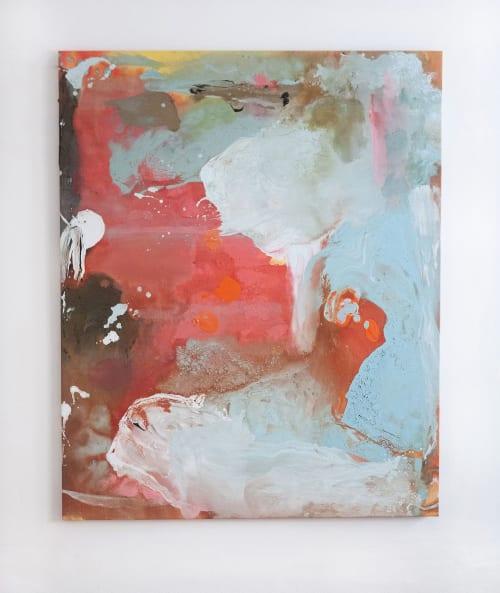 Paintings by Ordo Amoris Art seen at Creator's Studio, Praha 1 - Aeon