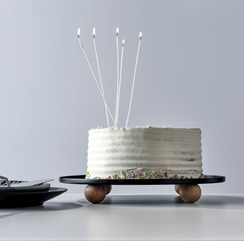 Utensils by Ndt.design seen at Creator's Studio, Delray Beach - Cake Stand - Rondo Collection