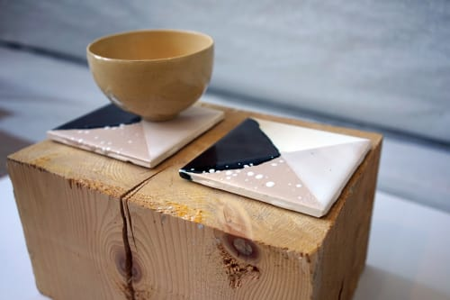 Tableware by Wolf City Design seen at Private Residence, Brooklyn - Coasters