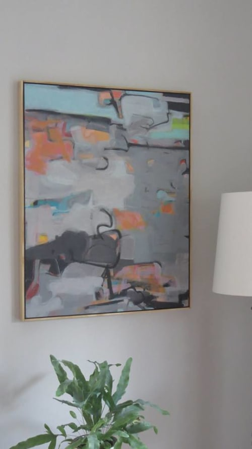 Paintings by Neal Novak seen at Private Residence, Baton Rouge - Western Shore