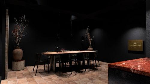 Interior Design by KAMP.studio seen at Pata Negra House - Private Cellar/Showroom