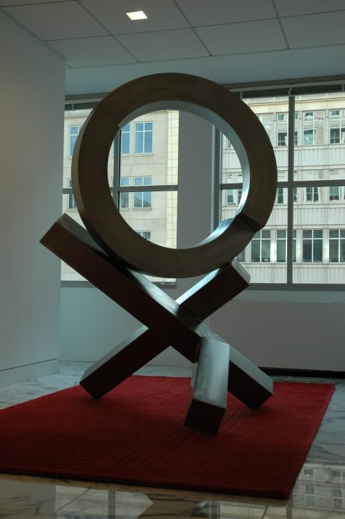 Art Curation by Rob Lorenson seen at Washington DC, Washington - X's and O's #1
