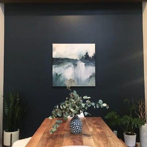 Paintings by Monika Kralicek seen at Private Residence, Portland - The Woods