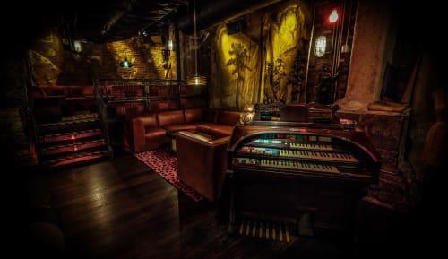 Interior Design by Volenec Studio seen at Alley Cat Amateur Theatre, New York - ALLEYCAT AMATEUR THEATRE