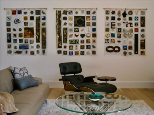 Art & Wall Decor by Paula Bowers Design seen at Private Residence, West Bloomfield Township - Essence of Time
