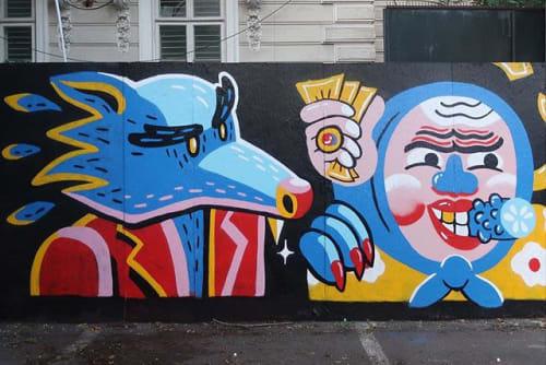 SH - Street Murals and Public Art