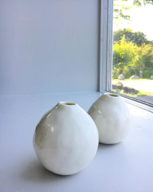 Vases & Vessels by Optimism and Co. seen at Creator's Studio, Eastsound - 'Roadsidia' bud vase
