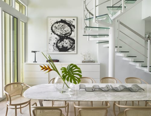 Interior Design by Michael Wolk Design Associates at Private Residence, Miami Beach - SOUTH BEACH TOWNHOUSE