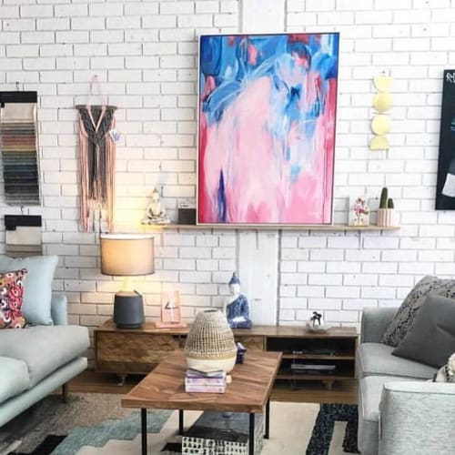 Art Curation by Anne-Maree Wise Artist seen at Soul Shapes - Lifestyle Interiors, Belgrave - Rose Bay