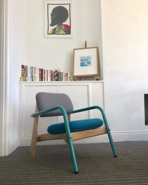 Chairs by Joe Franc seen at Private Residence, Newcastle upon Tyne - Billy Lounge