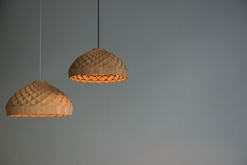 Nest Pendants   Pendants by Edward Linacre   Osten Cafe in Hamilton