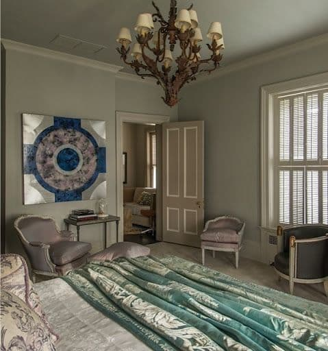 Paintings by Helene Steene seen at Private Residence, Lexington - Oculus II