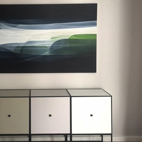 Paintings by Agneta Ekholm seen at Private Residence, Sydney - Drift II