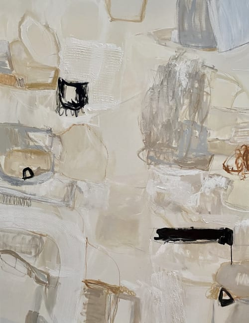 Paintings by Erin Donahue Tice Fine Art seen at Private Residence, Austin - Sandy Lane