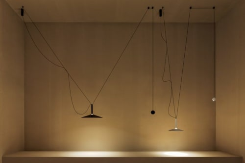 Pendants by Jaume Ramirez Studio seen at Salone Del Mobile, Milano - Milana pendant lamp