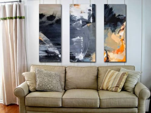 Paintings by Rob Forlani seen at Private Residence, Perth - 'Linea Gotica'
