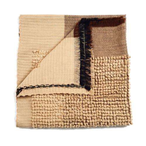 Macaroon Merino Throw | Linens & Bedding by Studio Variously