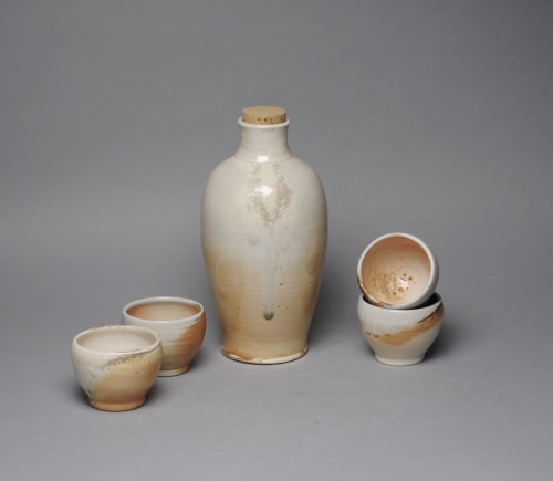 Tableware by John McCoy Pottery seen at Private Residence, New York - Sake Whiskey Set