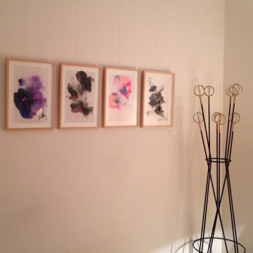 Paintings by Sabatina Leccia seen at Private Residence, Paris - Explosion Series