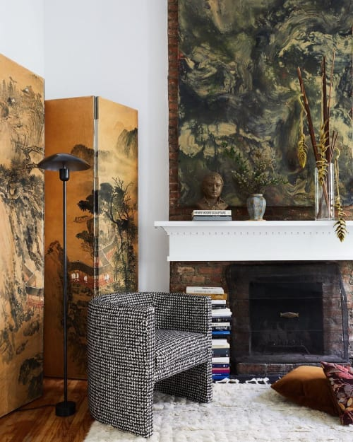 Lamps by In Common With seen at Private Residence, New York - Arundel Floor Lamp