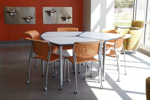 Clara Tables By Studio Babick Seen At Nex Gen Academy Albuquerque