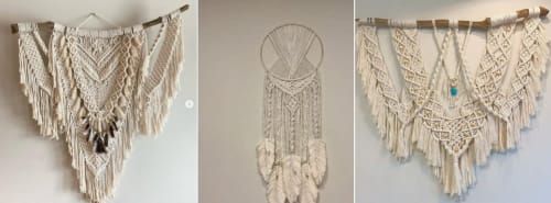 Hitch + Tie - Macrame Wall Hanging and Art