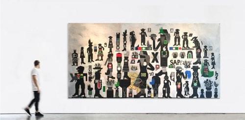 Warren Dykeman - Paintings and Murals