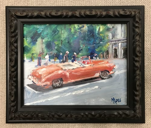 Paintings by Mark Ross, Next Thing Art seen at Private Residence, Fort Worth - Cuba
