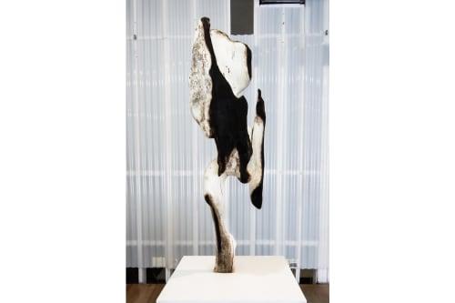 Sculptures by Vincent Pocsik seen at Vincent Pocsik Studio, Los Angeles - The Seeker