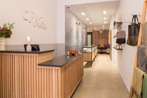 Interior Design by Verdego Design, LLC. seen at The Clay Pot Nolita, New York - The Clay Pot Nolita