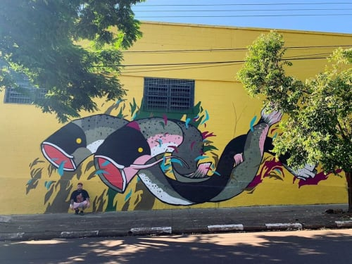 Felipe Yung (Flip) - Street Murals and Murals