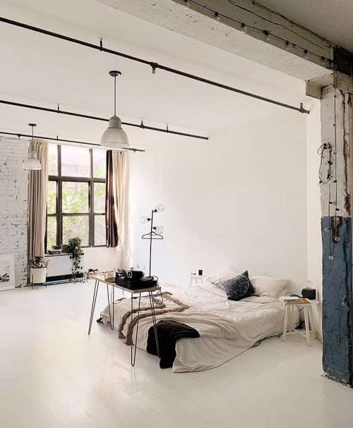 Linens & Bedding by küdd:krig HOME seen at Private Residence, Brooklyn - Drea Blanket