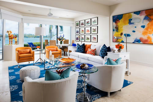 Interior Design by GIL WALSH INTERIORS seen at Private Residence, Tequesta - Just Add Water
