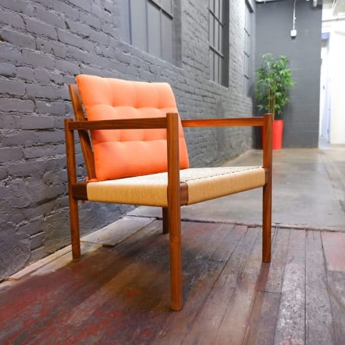 Chairs by Alder & Oil seen at Private Residence, Los Angeles - Custom Chair