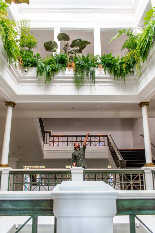 Plants & Landscape by Brandon Pruett Design seen at SF Decorator Showcase 2019, San Francisco - Sky Light Conservatory