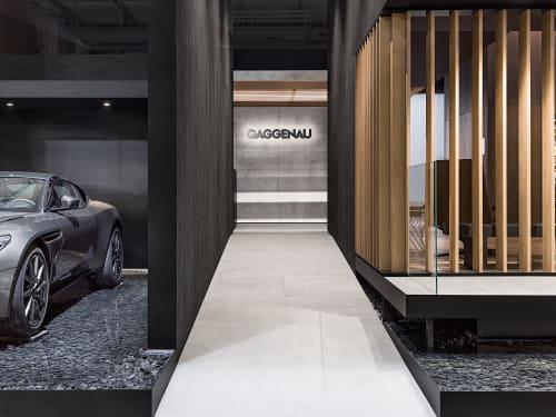 Interior Design by 1zu33 seen at Fiera Milano | Rho, Rho - Booth at Eurocucina 2018, Gaggenau